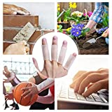 Sumifun Silicone Thumb Sleeves, 4 Pairs of Gel
