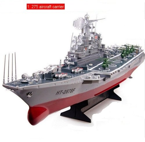 China 4CH Large aircraft carrier RC boat Electric toys re...