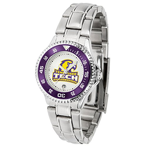 SunTime Tennessee Tech Golden Eagles Competitor Ladies Watch with Steel Band