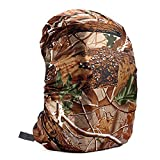 Wintefei Useful Schoolbag Outdoor Sports 35-80L Portable Waterproof Backpack Bag Rain Cover for Travel Bag - Tree Camouflage 35L