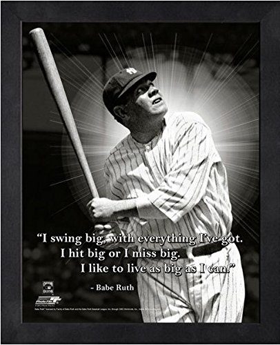 Babe Ruth Photograph (Babe Ruth New York Yankees ProQuotes Photo (Size: 12