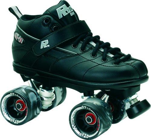 Sure-Grip Rock GT-50 Roller Skate Package - Black sz Mens 15 ()