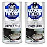 Bar Keepers Friend COOKWARE Cleanser & Polish Powder, 12 oz (Pack of 2)