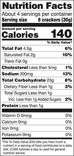 Gluten Free by Glutino Snack Crackers, Premium Rounds, Original, 4.4 Ounce