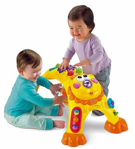 Fisher-Price Go Baby Go! Cruise-Around Activity Lion by Fisher-Price (Image #4)