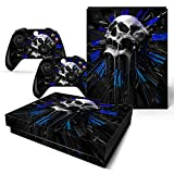ModFreakz™ Console/Controller Vinyl Skin Set - Melting Skull for Xbox One X
