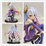 Anime Gift NO GAME NO LIFE SHIRO 1/7 Scale Action Figure Figurine Toy Doll Model