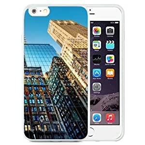 NEW Unique Custom Designed Case For Ipod Touch 4 Cover Phone Case With New York Skyscrapers Glenmore_White Phone Case