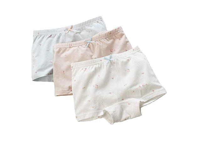Amazon.com: AJOMAN - Calzoncillos de algodón para niñas (3 ...