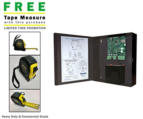 Secura Key Nova 16 4-Door kit Panel Software Power Supply 4RKDT (Wall Switch) Dual-tech Prox Readers & Includes A Free Heavy Duty FAS Tape Measure (Part# FAS-TMPROMO18)