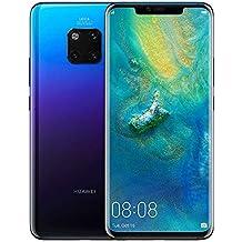 Huawei Mate 20 Pro GSM Unlocked 6GB RAM 128GB Storage Single Sim LYA-L09 - International Version/No Warranty - Twilight