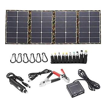 Shumo Al Aire Libre 120W 18V Panel Solar Cargador Solar ...