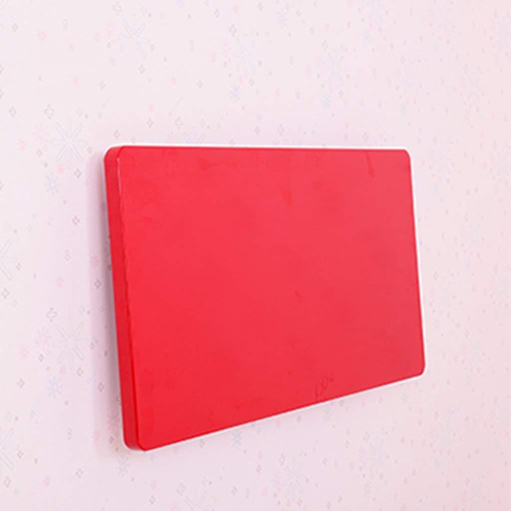 respuestas rápidas rojo 6050cm Wghz Pintura Mesa Plegable Mesa de Comedor Comedor Comedor Mesa de Parojo Computadora Escritorio de Parojo Mesa de Mesa Mesa de Parojo, Tamaño Opcional, Rojo, Negro (Color  Rojo, Tamaño  100  50cm)  contador genuino