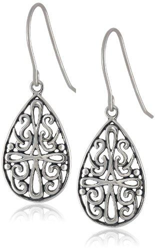 ized Celtic Cross Teardrop Earrings (Celtic Cross Drop Earrings)