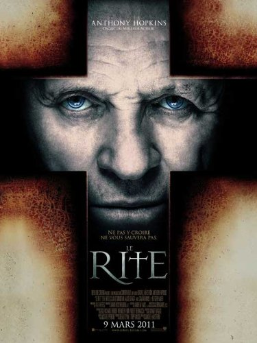 The Rite Poster Movie French 27 x 40 Inches - 69cm x 102cm Anthony Hopkins Colin O'Donoghue Alice Braga Ciaran Hinds Toby ()