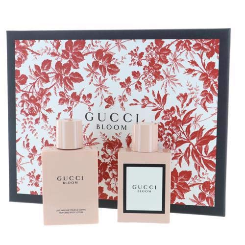 Gucci Bloom by Gucci for Women - 2 Pc Gift Set 1.6oz EDP Spray, 3.3oz Perfumed Body Lotion