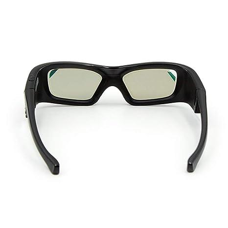 MJTCJY GL410 Gafas 3D for proyector Full HD Active DLP Link Gafas ...