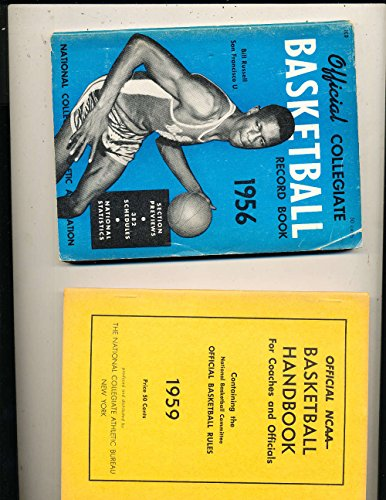 (1956 Official NCAA Collegiate Basketball Record Book Bill Russell)
