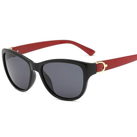 Yangjing-hl Gafas de Sol polarizadas Hombres Mujeres Señora ...