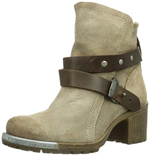 femme Dk London 006 Brown Taupe Beige Lok Fly Boots aqtCwxnvxH