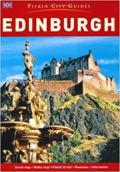 Book Edinburgh City Guide - English (Pitkin City Guides)