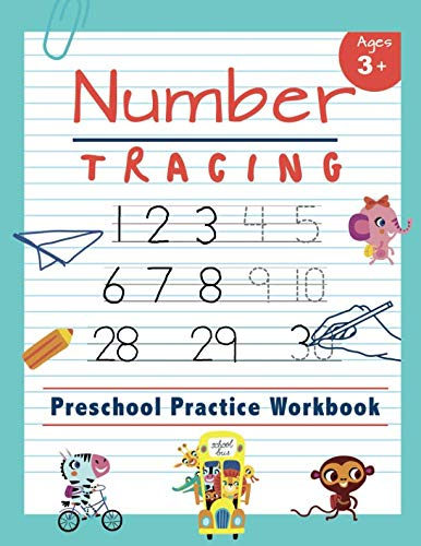 - Number Tracing |  Preschool Practice Workbook: Learn to Trace Numbers 1-20 | Essential Reading And Writing Book for Pre K, Kindergarten and Kids Ages 3-5 (Tracing Practice Book for Preschoolers)