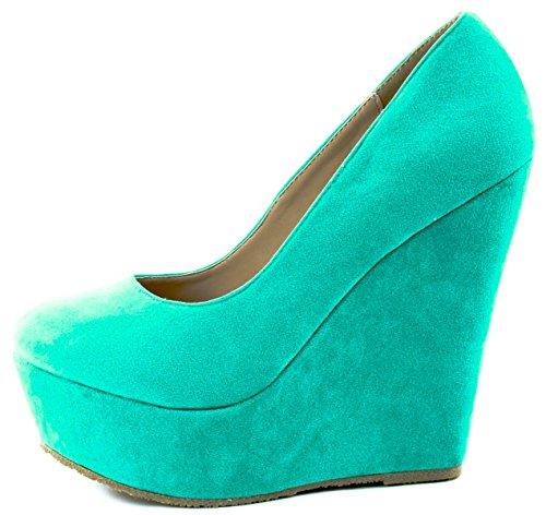 Heels Delicacy Shoes Women's Trendy 33 High Mint 4UXWTUqwn