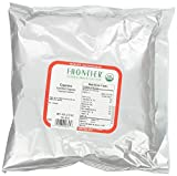 Frontier Chili Peppers Ground, Cayenne Cert. Org. 35,000 Hu, 16 Ounce Bag