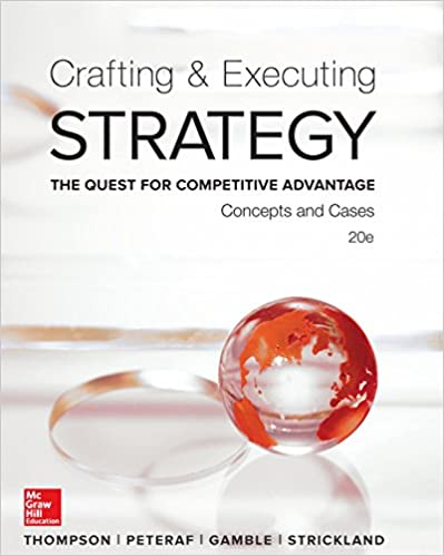 Crafting And Executing Strategy 16th Edition Pdf Sevenbr