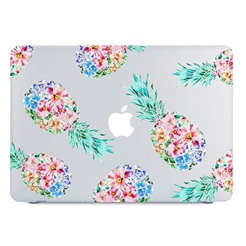 MacBook Release Pineapple Flowers Transparent