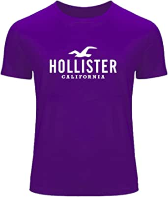 Hollister Graphic Logo For Mens T-shirt Tee Outlet : Amazon ...