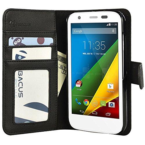 Moto G Case, Abacus24-7 Motorola Moto G Wallet - Motorola Moto G Lte Phone Cover