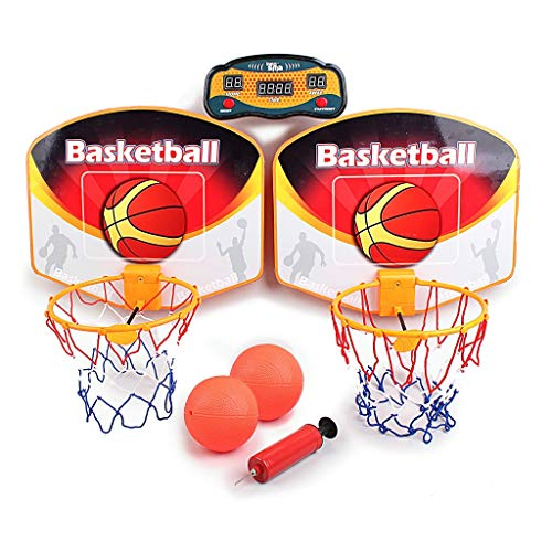 TKI-S-Double-Childrens-Basketball-Player-Parent-Child-Interaction-Interests-LED-Display-Scorer-Sports-Fan-Indoor-Outdoor-Home-Office-Wall-Frame-Basketball-Board-Child-Child