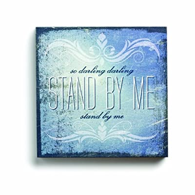 Lyricology Stand by Me Box Decorative Sign