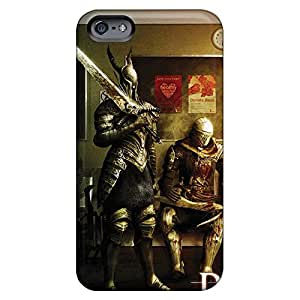 iphone 6 Plastic cell phone carrying covers Durable phone Cases covers dark souls prepare to die edition