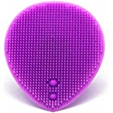 Silicone Facial Scrubber Brush Exfoliating Brush for Face Cleaning and Facial Massage