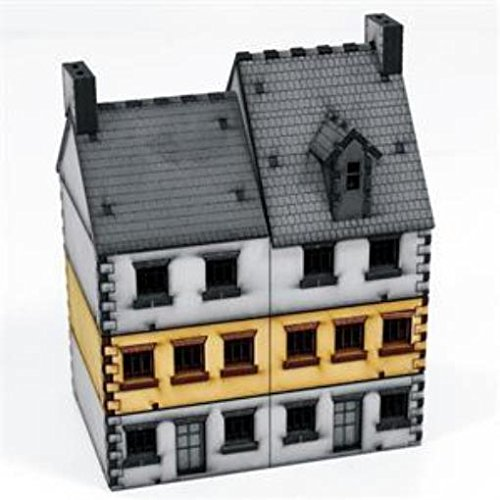 Europe At War - Buildings 15mm Semi-Detached House #3 - Add-On -