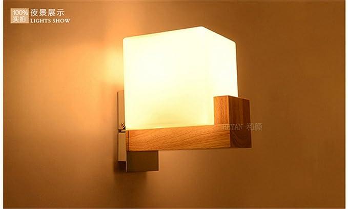 Pareti in legno luci personalizzati cinese soggiorno camera da letto