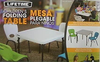 Lifetime Childrens Folding Table