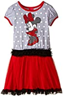 Disney Girls' Minnie Dot Print Tutu Dres...