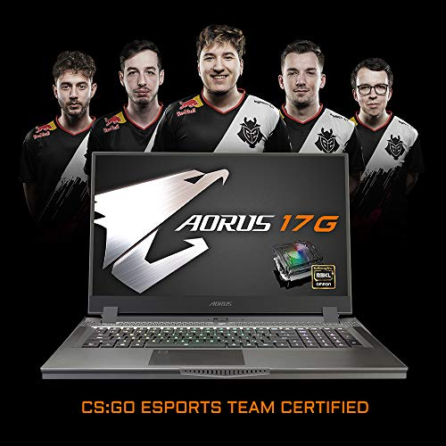 [2020] AORUS 17X (YB) Extreme Gaming Laptop, Lightest+Coolest in Class, 17.3-inch 300Hz IPS, GeForce RTX 2080 Super Max-P, Intel i7-10875H, 32GB DDR4, 1TB NVMe SSD + 2TB 7200rpm HDD, Overclockable