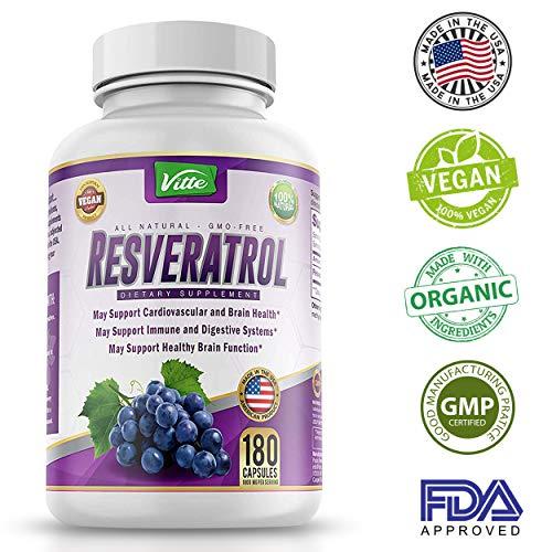 100 Pure Resveratrol Antioxidant Trans Resveratrol product image
