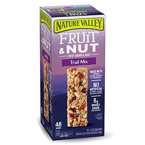 Nature Valley Fruit & Nut Chewy Trail Mix Granola Bars (48 ()