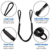 DOMABRI Boat Bungee Dock Lines - 2 Pack - 4 ft