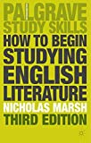 img - for How to Begin Studying English Literature (Palgrave Study Guides: Literature) book / textbook / text book