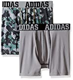 Sporting Goods : adidas Boys' ClimaLite Boxer Brief (2 Pack)