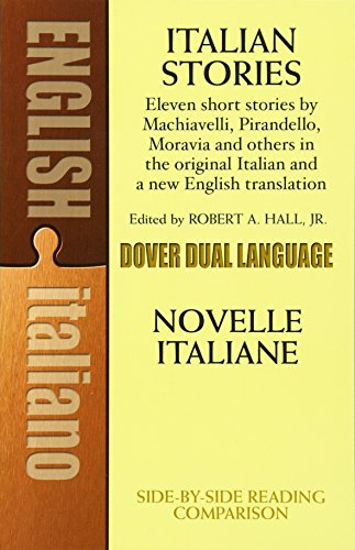 Italian Stories: A Dual-Language Book (Dover Dual Language Italian) by Dover Publications
