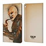 Official Star Trek Discovery Voq Grunge Characters Leather Book Wallet Case Cover Compatible for iPad Air (2019)