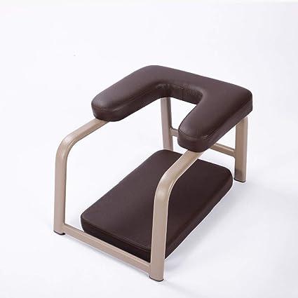 Junphsion Silla Auxiliar de Yoga en el hogar Silla cómoda y ...