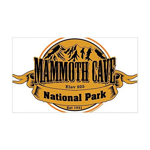 CafePress Mammoth Cave, Kentucky Sticker Rectangle Bumper Sticker Car Decal